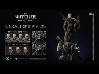 Geralt of Rivia Deluxe Version (The Witcher 3 Wild Hunt) 360°View - Prime1Studio