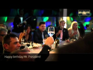 Wor(l)d GN Millionaire Club Dubai !!!Happy birthday Fabio Galdi!!!