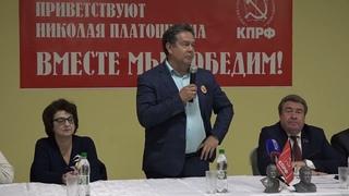 Николай Платошкин в Саранске.