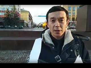 Житель брянска в годовщину смерти жены в перинатальном центре вышел с пикетом
