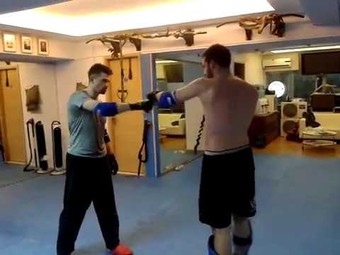 Wing Chun vs Mixed Fighting - Sparring Series (2013)
