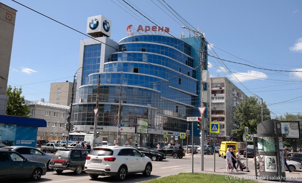 Современные здания, Саратов 2020
