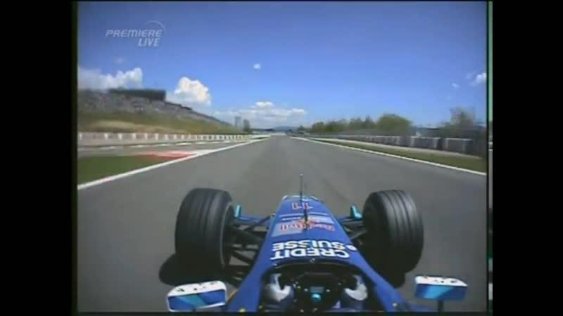 F1 2004 Sauber Petronas Ferrari C23 Onboard Engine Sounds