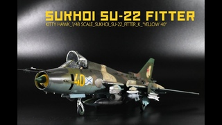 Sukhoi SU-22 Fitter 1/48 | The Inner Nerd