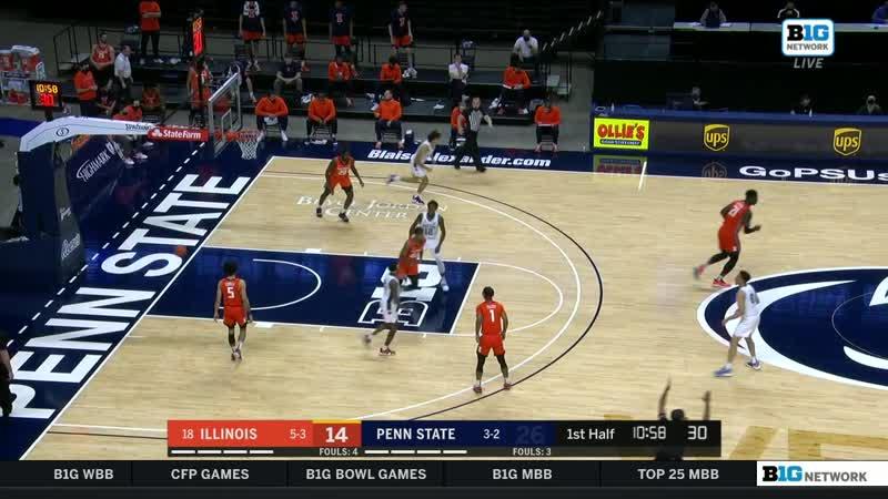 NCAAM 20201223 Illinois vs Penn St