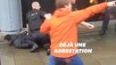 Les images de l'arrestation d'un homme après l'attaque de Manchester