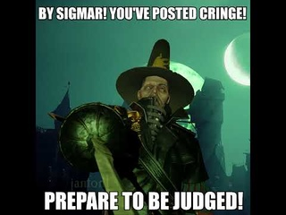 BY SIGMAR! YOU'VE POSTED CRINGE but it's actually Saltzpyre