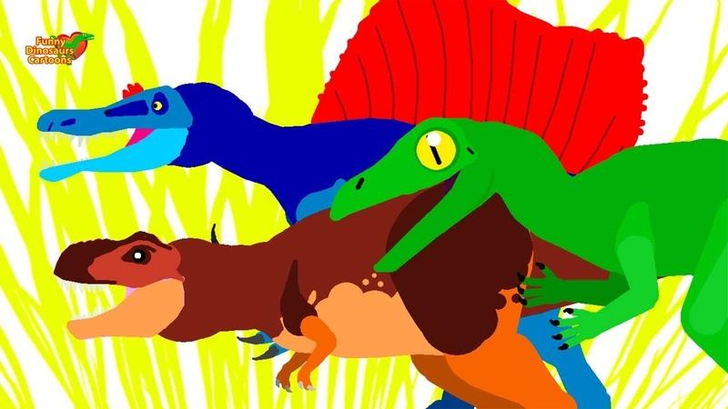Dinazor Çizgi Film Komik Dinozorlar Çizgi Film Animasyon Funny Dinosaurs Cartoons