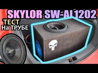 Тест Сабвуфера в коробе на Трубе! Skylor SW-AL1202. Соревнования Сабвуферов.
