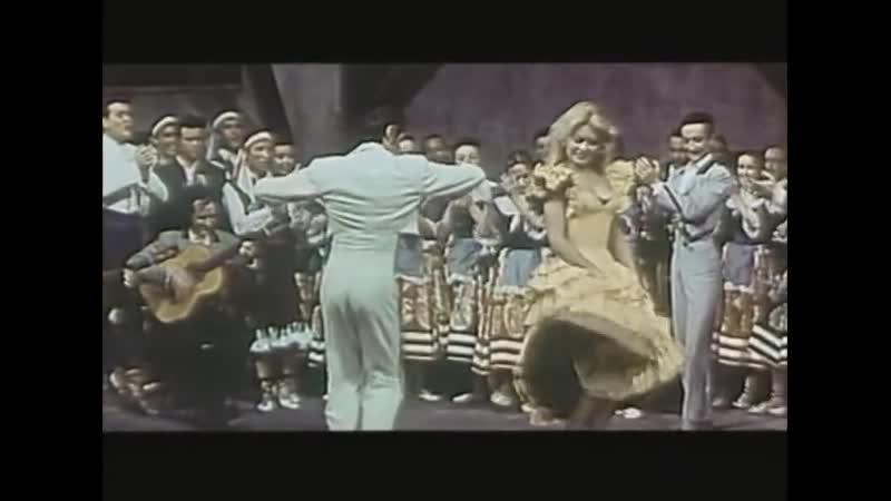Аргентинское танго к ф Валентино 1951г танц амер артисты Энтони Декстер 1913 2001 и Патриция Медина 1919 2012