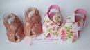 Sandália Passeio Baby Sandals Aula 8 Projeto Gratuito