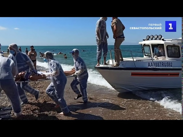 Учения в Севастополе спасли пассажиров судна терпящего бедствие