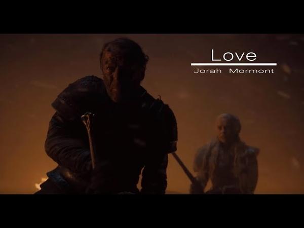 Love Jorah Mormont Game Of Thrones Tribute