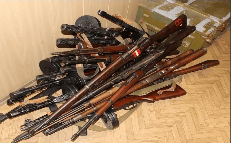 Жителя Коломны осудили за оружейный арсенал