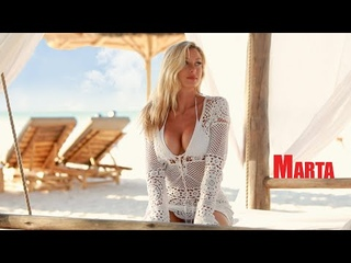 MARTA | Photoshoot on a PRIVATE BEACH in Africa | FilmMob TV