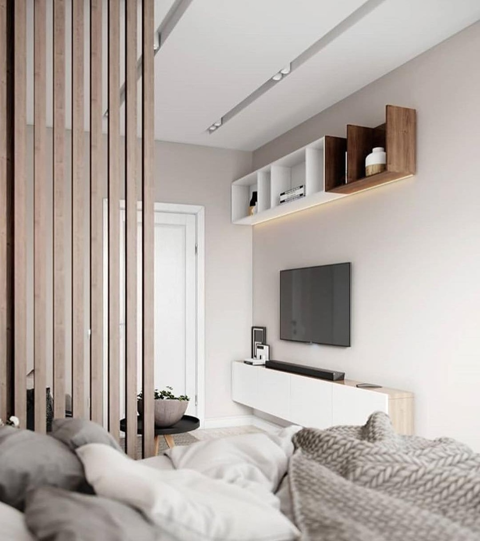 Проект квартиры в серых тонах.