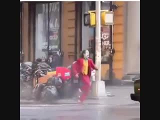 New joker chase behind the scenes (joker movie joaquin phoenix 2019) footage  #таверна_steampunk