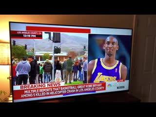 Reporter has bad slip up live while talking about kobe bryant [rapnews]