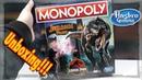 Jurassic Park Monopoly Unboxing