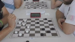 Алекнавичус - Мисанс. Кубок Мира по бразильским шашкам 2021 (блиц)