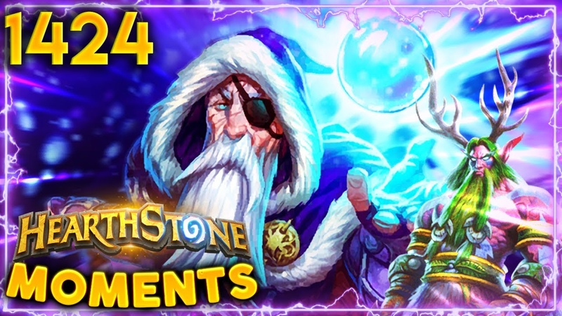 OBLITERATED By Aggro Druid On Turn 2 Hearthstone Daily Moments Ep 1424