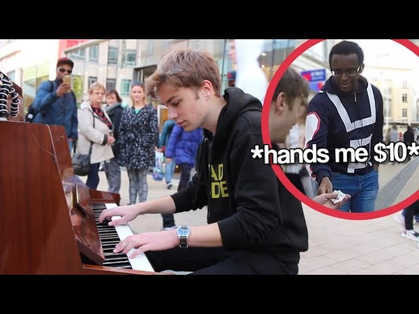 I played GIORNO S THEME on piano in public