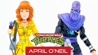 April O'Neil and Bashed Foot Soldier Unboxing! 2020 Neca Teenage Mutant Ninja Turtles