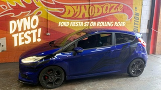 2014 Ford Fiesta ST on Rolling Road Nice and Healthy