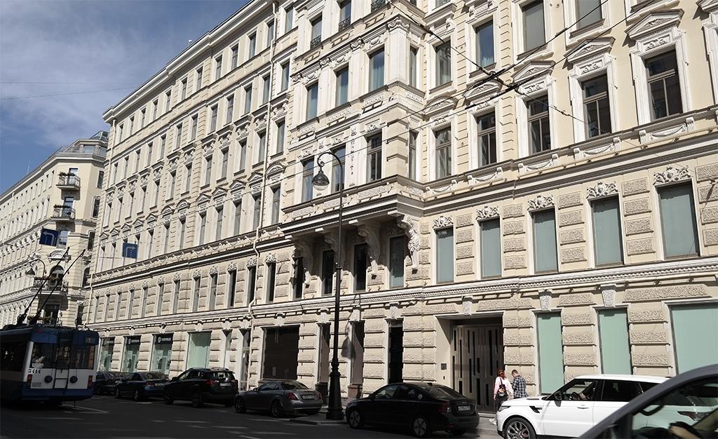 Оформление домов в Санкт-Петербурге, Петроградка