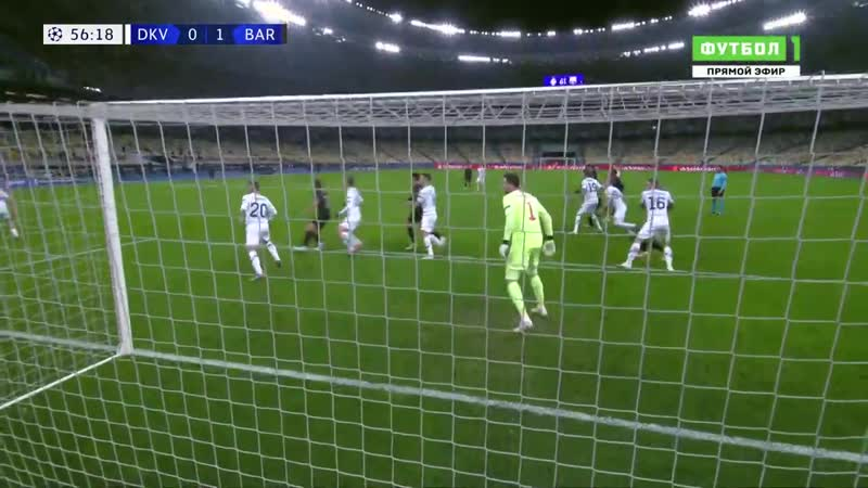 Динамо Киев Барселона 0 4 Обзор матча Лиги Чемпионов 24 11 2020