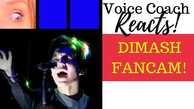 Voice Coach Reacts Dimash Ogni Pietra Olimpico FANCAM Version