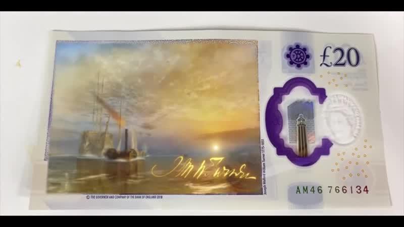 05 Новая банкнота £20 использует SNAPCHAT