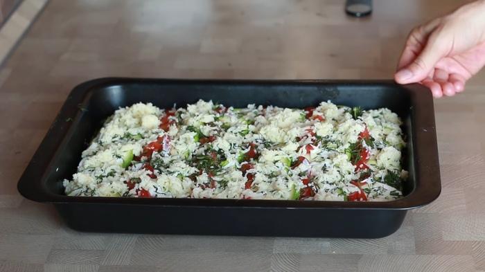Вкусная запеканка из кабачков с мясным фаршем, изображение №3