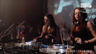 Lolla Tek  b2b Adriana Vega @ Panama Amsterdam Full Length Techno Set