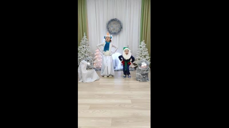 2 Э В Валерия и Алексей Точилины 7 9 лет Гном и Снеговик