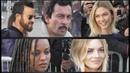 Justin Theroux, Karlie Kloss, Kelela, Samara Weaving @ Paris Fashion Week 5 march 2019 show Vuitton