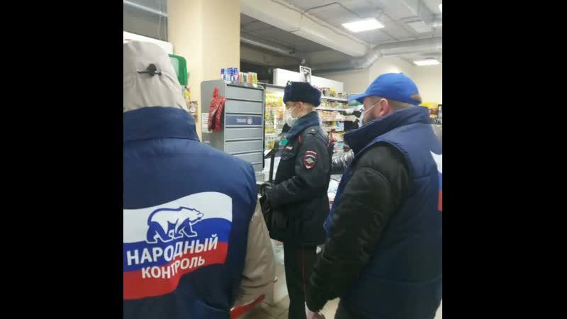 Народный контроль в Омске выявил точку незаконной продажи алкоголя