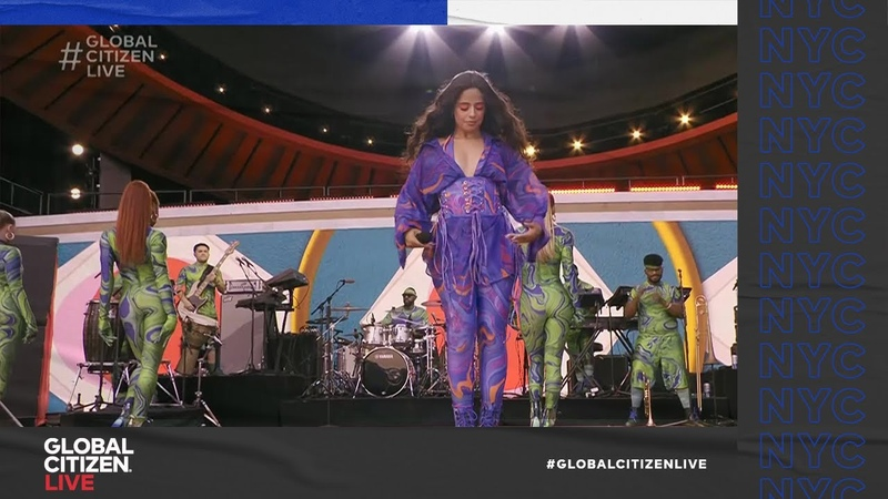 Camila Cabello Sings Don't Go Yet Global Citizen Live