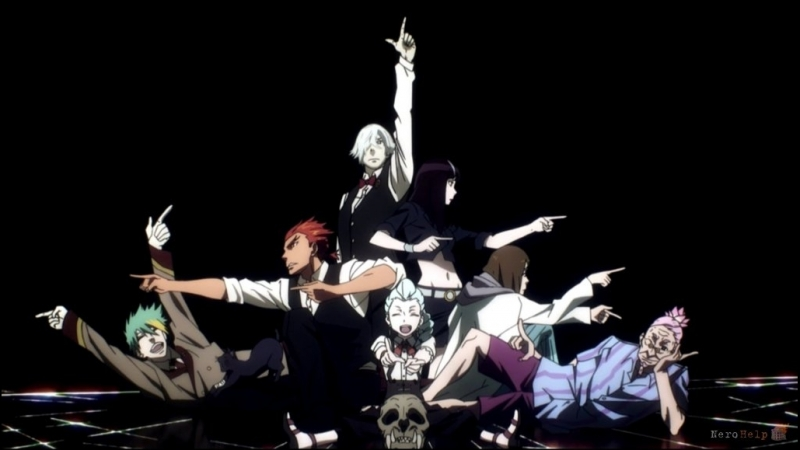 Death Parade OP Flyers Jackie O Russian Full Version