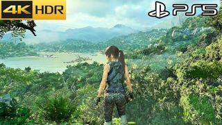 Shadow of the Tomb Raider - PS5 Gameplay 4K HDR 60FPS (Update )
