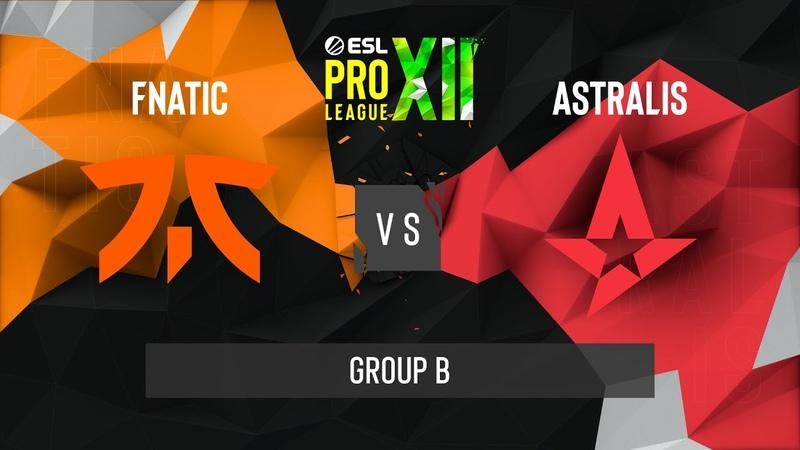 CS GO Astralis vs fnatic Train Map 3 ESL Pro League Season 12 Group B EU
