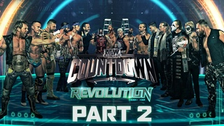 The Young Bucks vs Chris Jericho & MJF + We Look at the Big $ Match | Countdown to Revolution Part 2