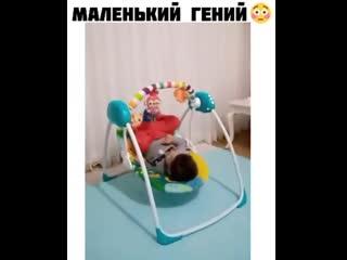 Сам себя уложил!)))
