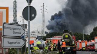 В Германии произошел серьзный взрыв на заводе Bayer