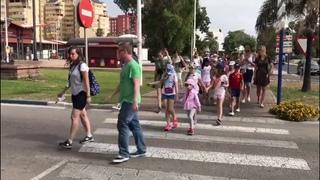 Лагерь Непоседы. День 4. Испания. Лето 2017 / Neposedy Camp. Day 4. Spain. Summer 2017.