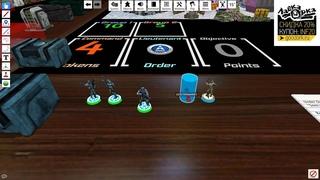 Как играть в Infinity the game в Tabletop Simulator