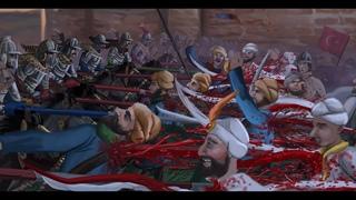 Battle of Khotyn 1673 trailer. Animated epic war movie
