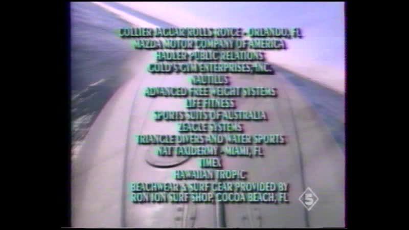 Thunder in Paradise Гром в раю 1x18 19 VHS 5 Glowamy