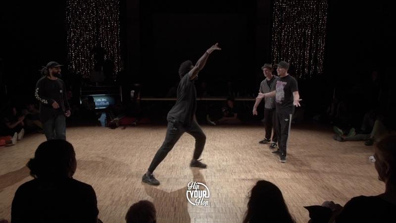Krees Bobby VS Yanka Ludo / Quart de finale • 2VS2 / Battle Hip Your Hop 4