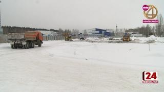Реконструкция стадиона идет полным ходом